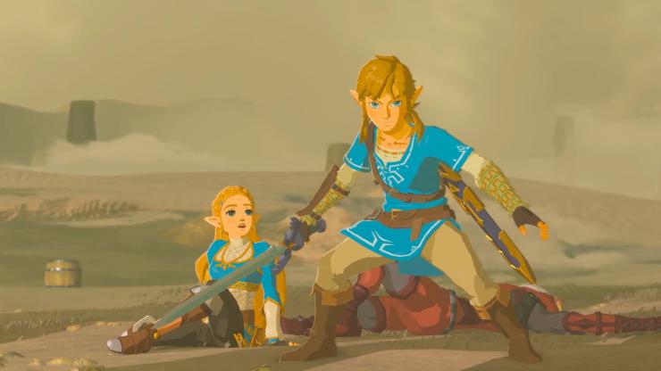 BotW_Link_Protecting_Zelda